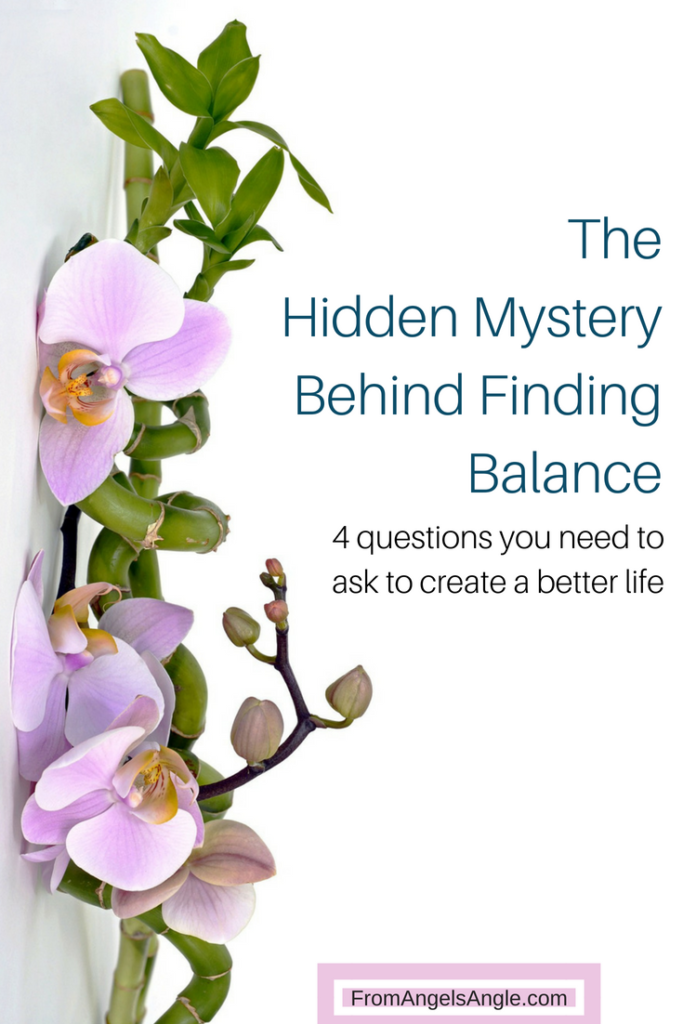 The Hidden Mystery Behind Finding Balance